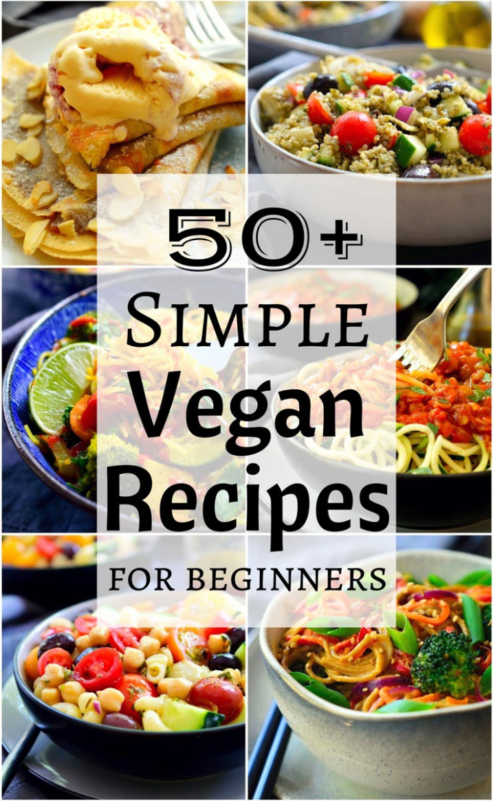 10+ Simple Vegan Recipes | The Stingy Vegan - recipes something different for dinner