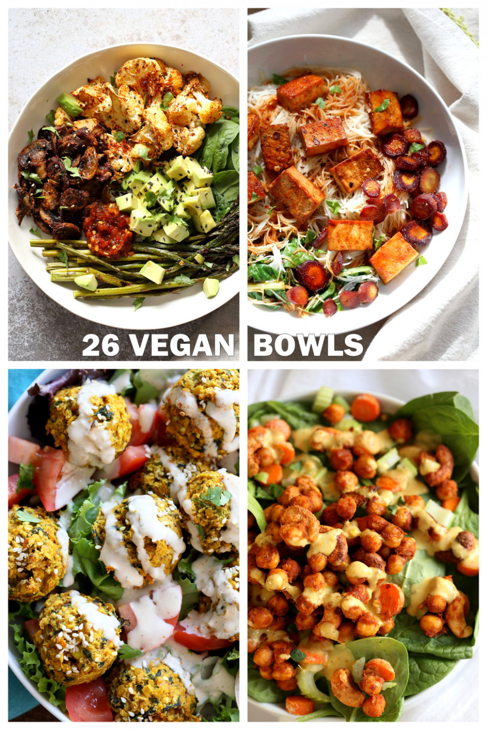 10 Vegan Bowl Recipes - Vegan Richa - Recipes Vegetarian Summer