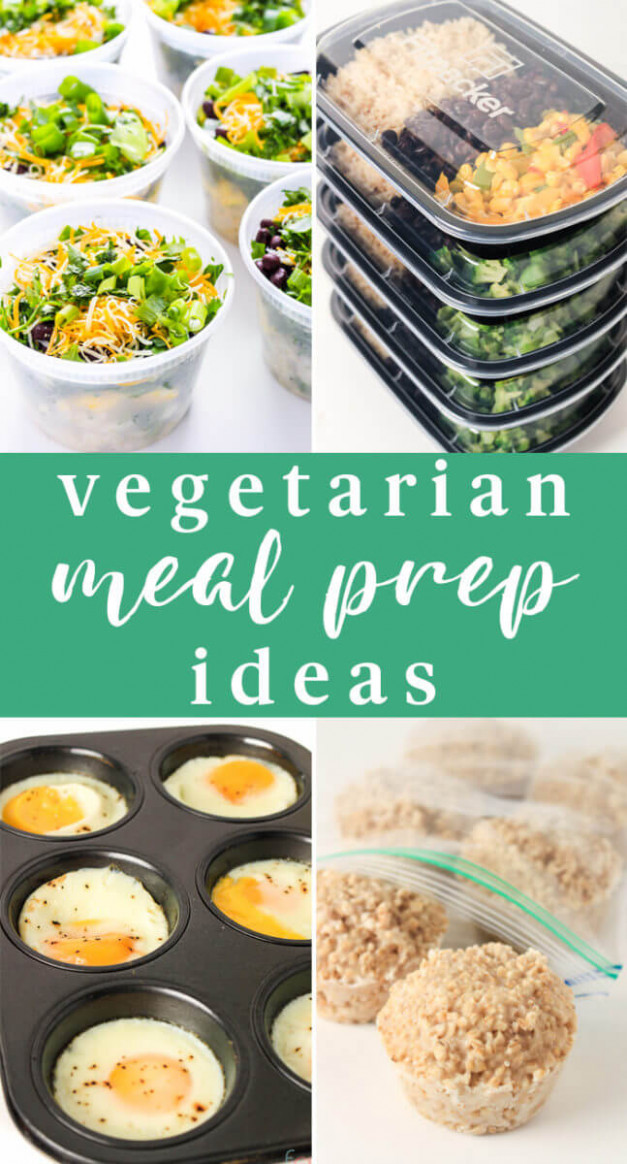 10 Vegetarian Meal Prep Ideas for Busy People on a Budget - recipes vegetarian meal prep