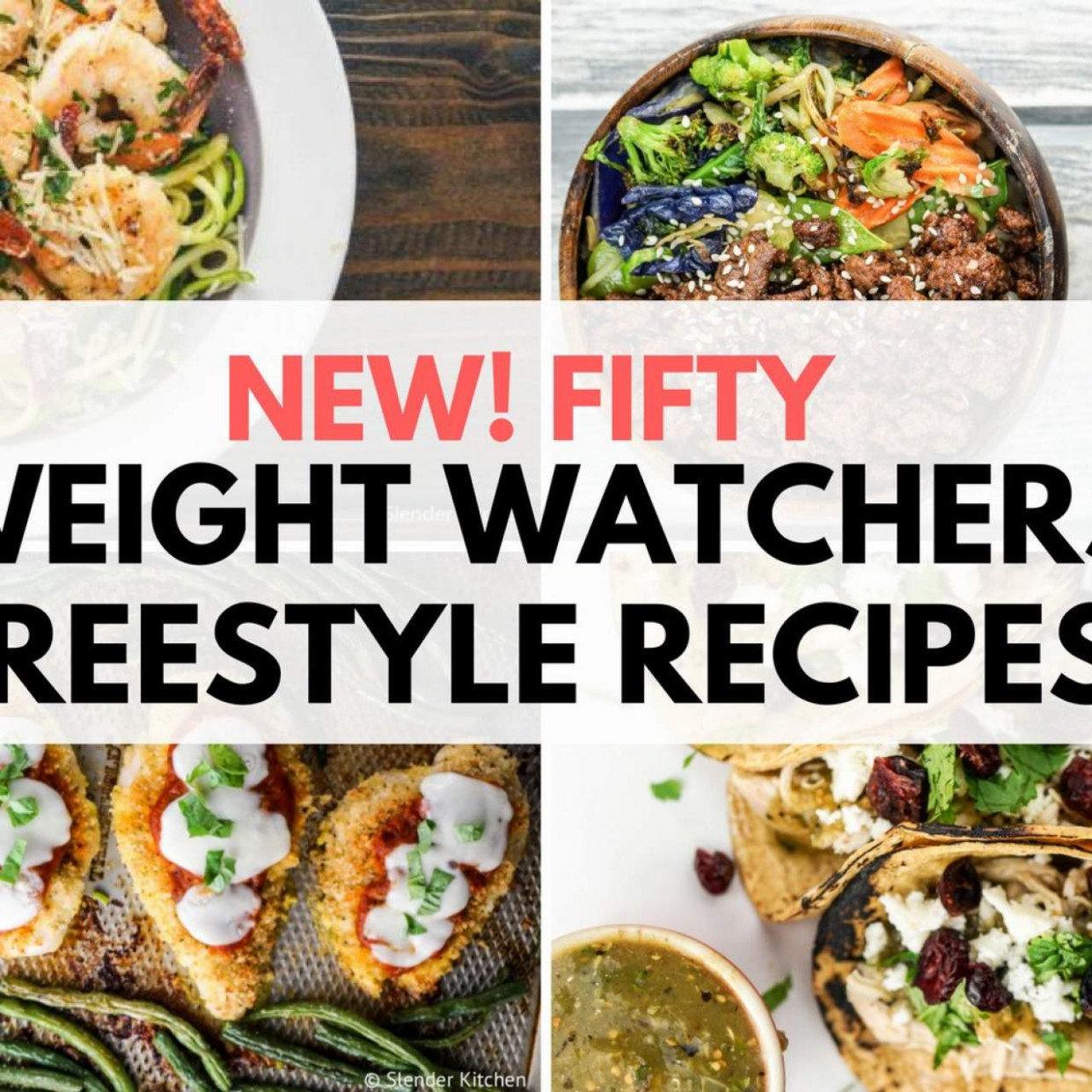 10 Weight Watchers Freestyle Recipes - Slender Kitchen - weight watchers recipes vegetarian