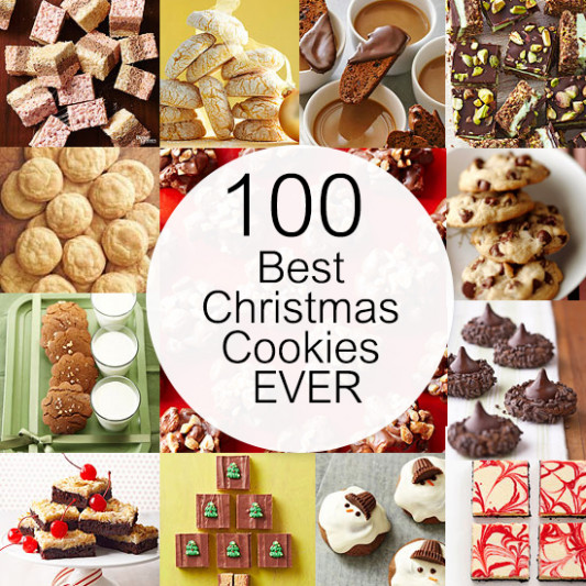 100 Best Christmas Cookies EVER | Better Homes & Gardens - the best xmas food ever recipes