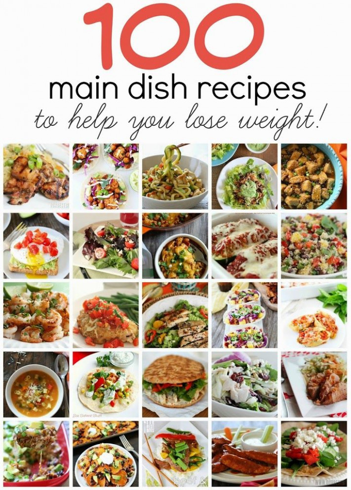 100 Main Dish Recipes to Help You Lose Weight ~ Seriously ..
