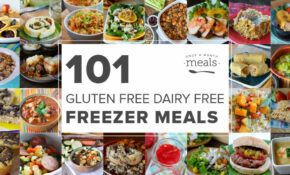 101 Gluten Free Dairy Free Freezer Meals | Once A Month Meals – Gluten Free Dairy Free Recipes Dinner