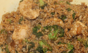 102/365/1928 (September 21, 2013) – Stir Fried Rice With Broccoli And Chicken – Healthy Chicken And Rice Recipes