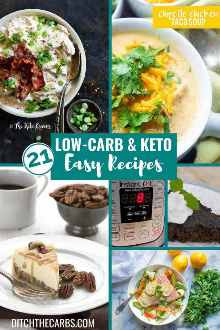 11 Best Low-Carb Keto Instant Pot Recipes — sweet AND savoury!!! - chicken recipes no carbs
