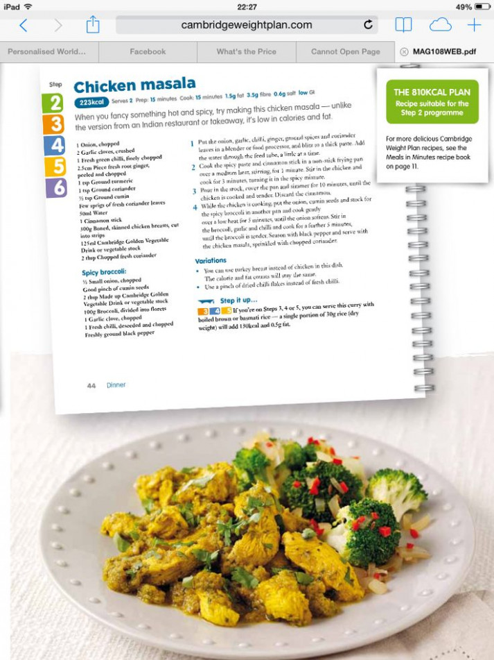 11 best Recipes for Cambridge Weight Plan clients. images ..