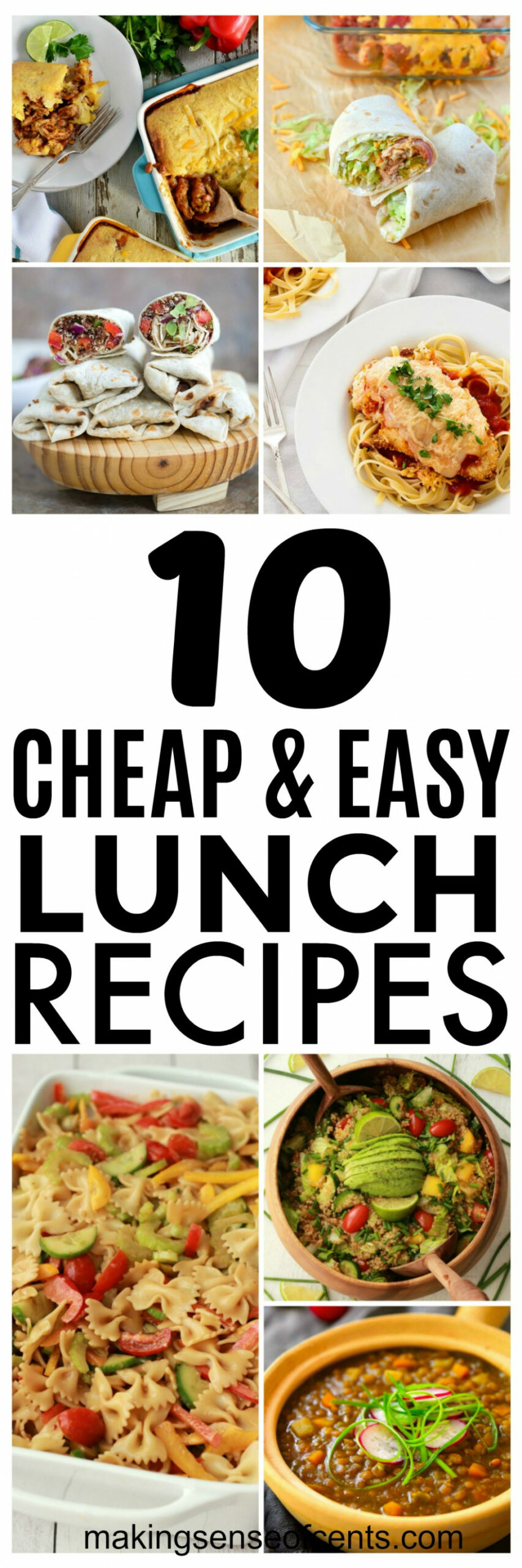 11 Budget Lunch Ideas and Cheap Easy Meals You Should Try - recipes dinner cheap
