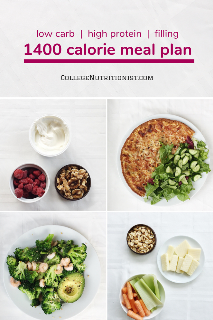 11 Calorie High Protein, Low Carb Meal Plan with Pizza ..