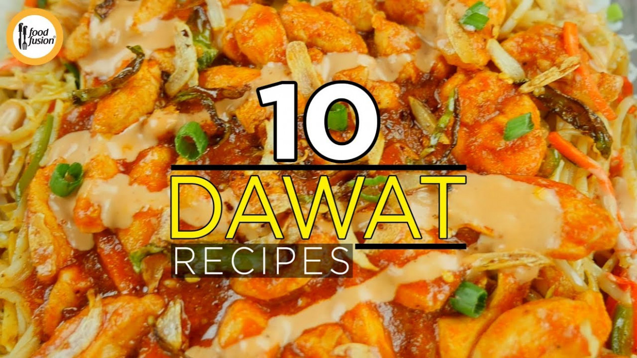 11 Dawat Recipes By Food Fusion - Food Fusion Recipes Youtube