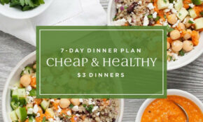 11 Day Meal Plan: Easy Cheap $11 Dinners | EatingWell – Recipes Dinner Cheap
