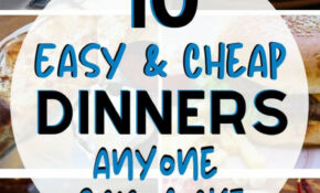 11 Easy And Cheap Meals ANYONE Can Make | Easy Cheap Meals ..
