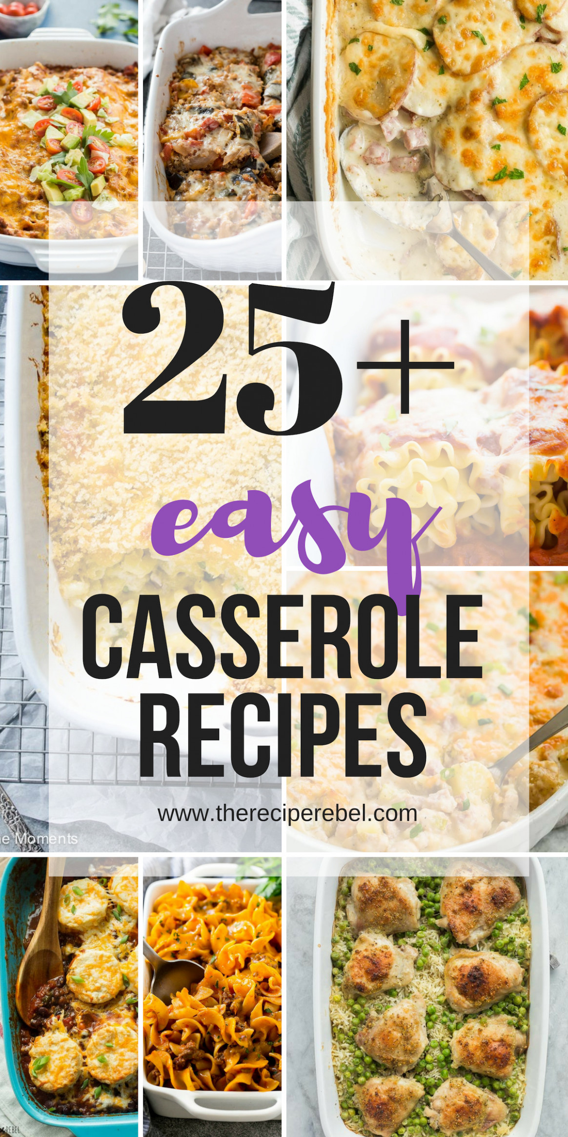 11+ Easy Casserole Recipes - make ahead friendly! - The ..