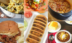 11 Easy Dinner Ideas With Ground Beef | The Gracious Wife – Dinner Recipes American
