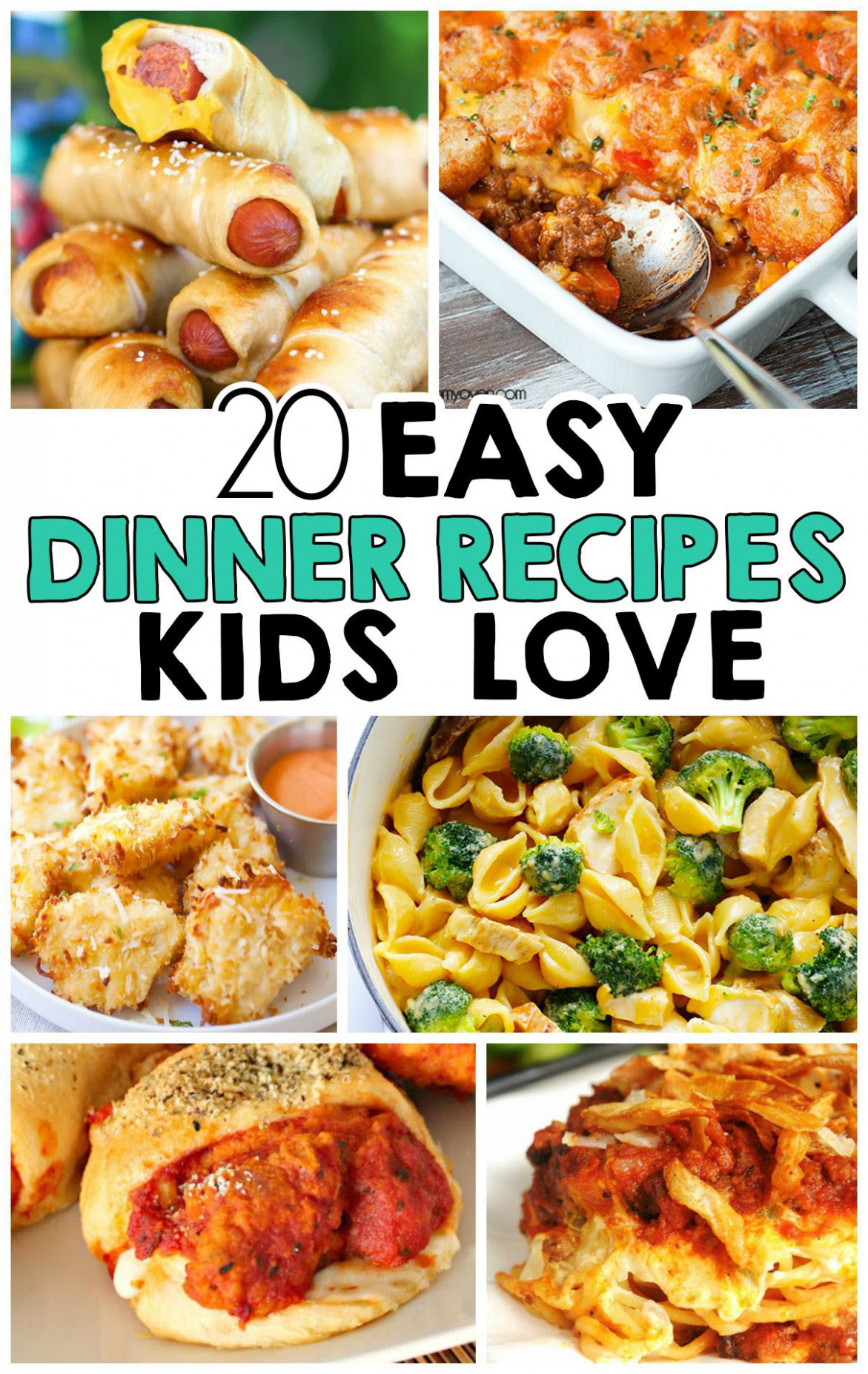 11 Easy Dinner Recipes That Kids Love | Kid-Friendly Recipes ..