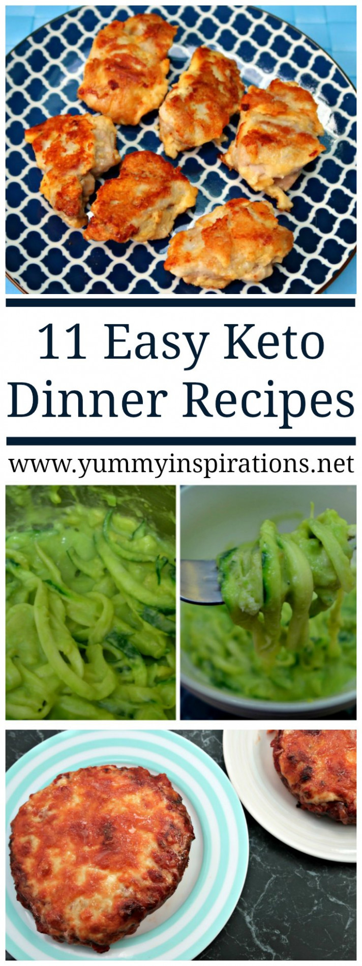11 Easy Keto Dinner Recipes - Quick Low Carb Ketogenic ..