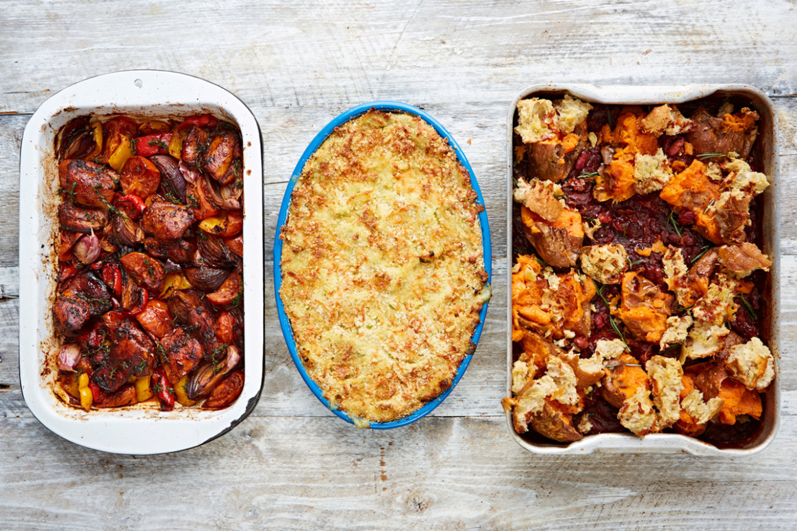 11 Easy Oven Recipes From Celebrity Chef Jamie Oliver - Top11 - tray bake recipes dinner