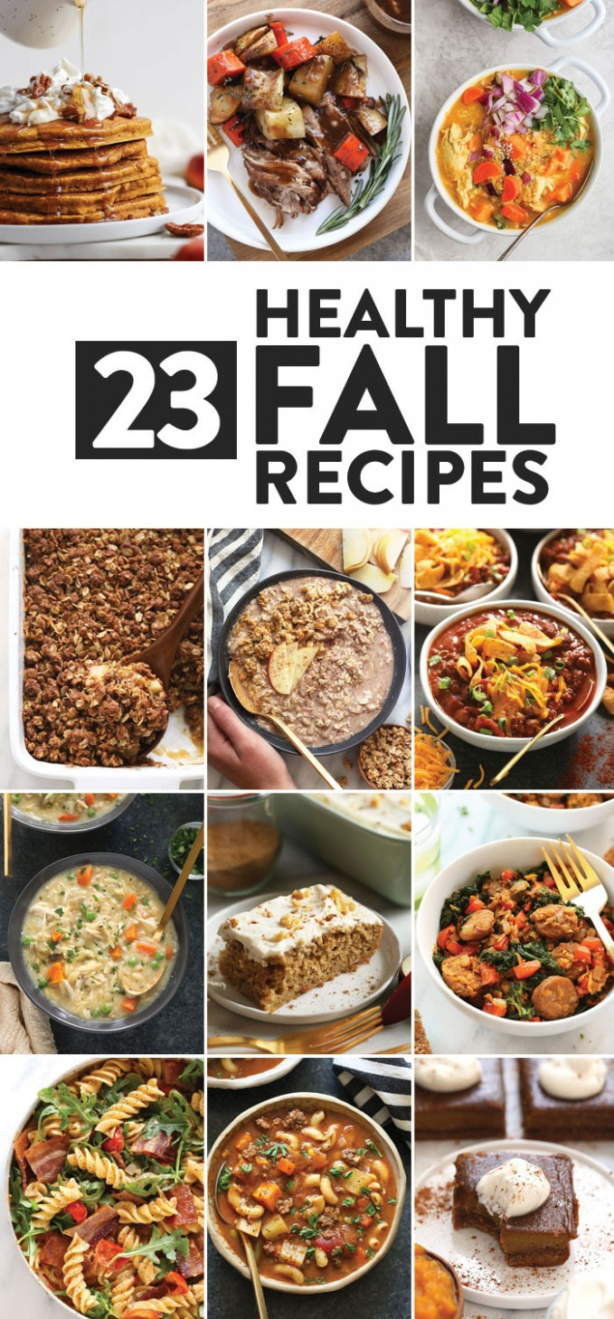11 Flavorful Fall Recipes (healthy, too!) - Fit Foodie Finds - healthy recipes ideas