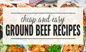 11+ Ground Beef Dinner Recipes | Domestically Creative – Recipes Dinner Beef