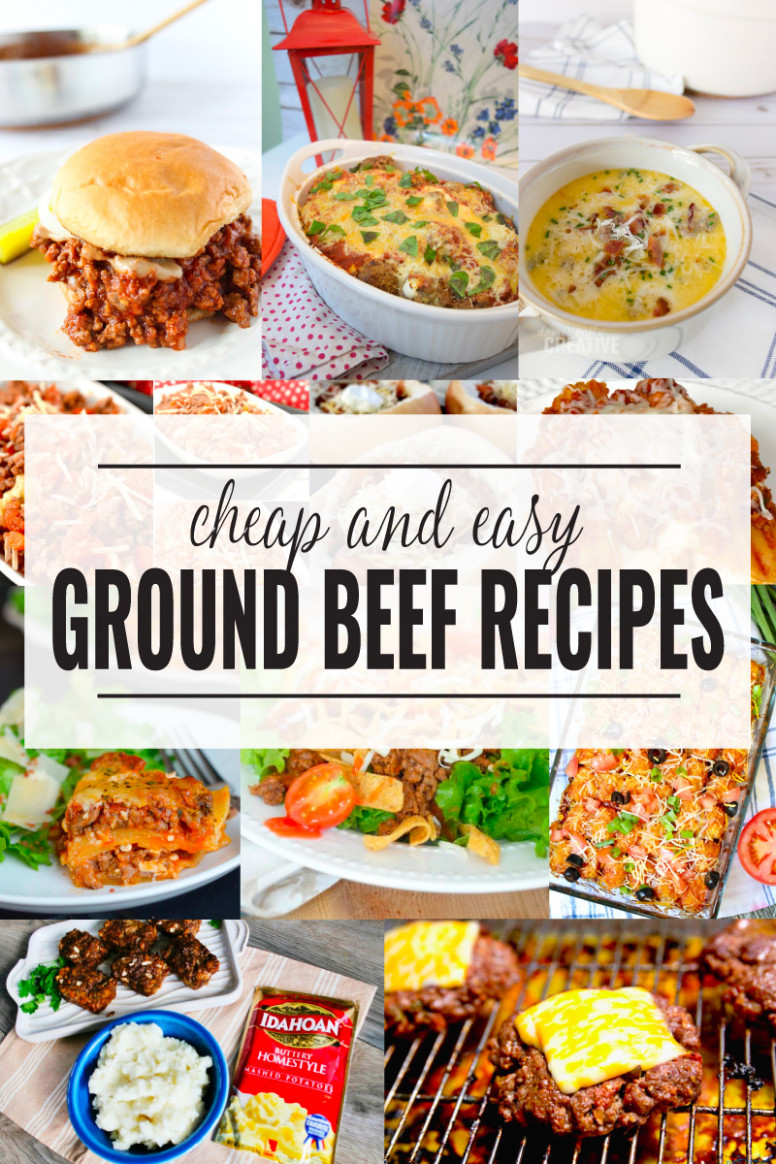 11+ Ground Beef Dinner Recipes | Domestically Creative - recipes dinner beef