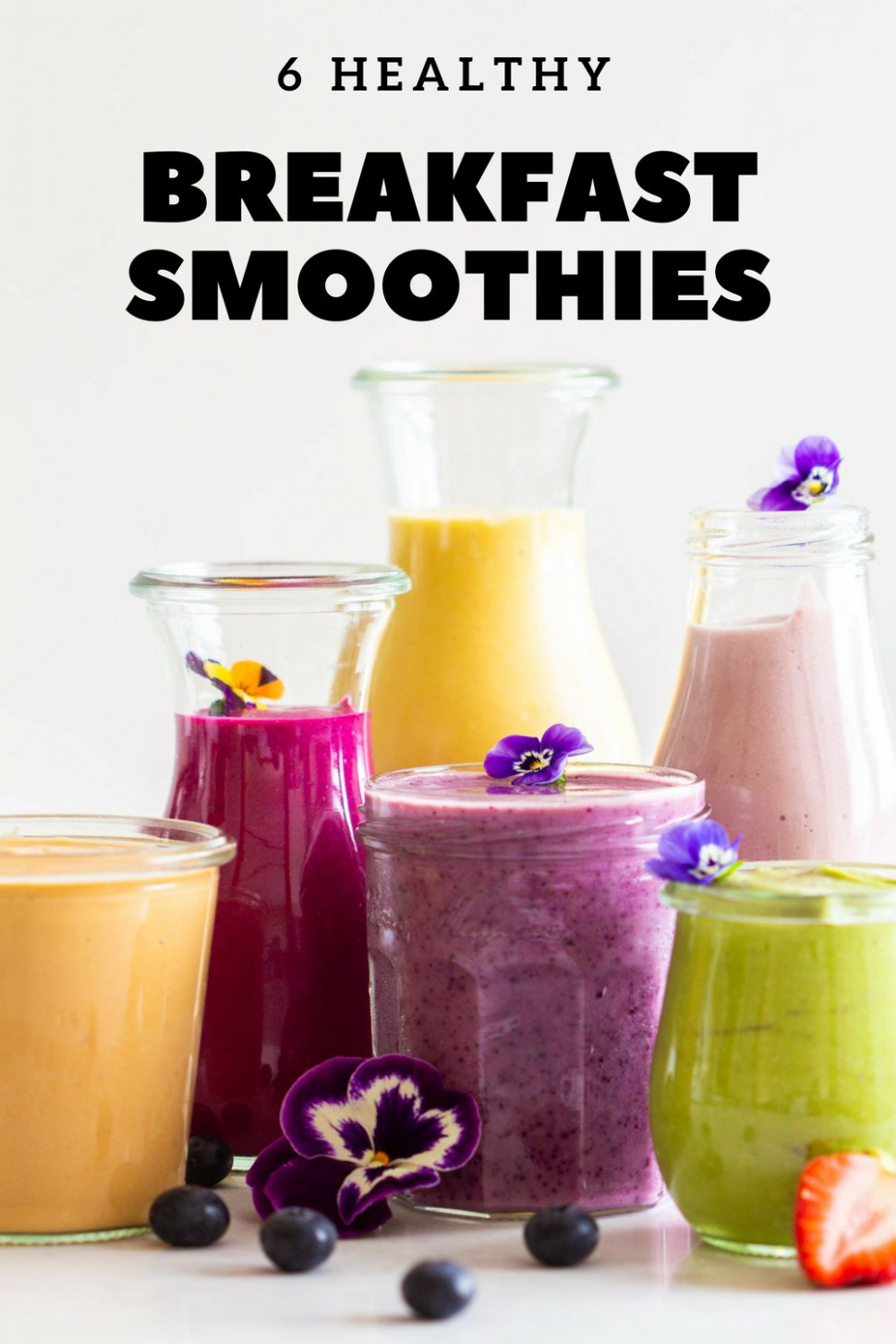 11 Healthy Breakfast Smoothies - Green Healthy Cooking - recipes healthy smoothies
