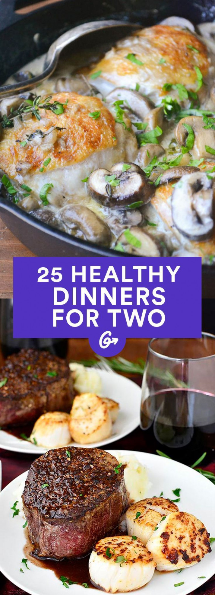 11 healthy dinner recipes for two - Nagel Kunst - healthy date night recipes