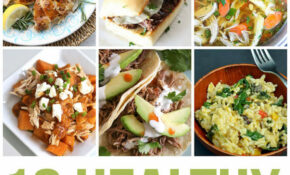 11 Healthy Instant Pot Dinners – Happiness Is Homemade – Recipes Healthy Dinner Ideas