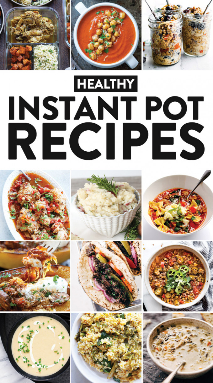 11 Healthy Instant Pot Recipes You Need In Your Life - Fit ..