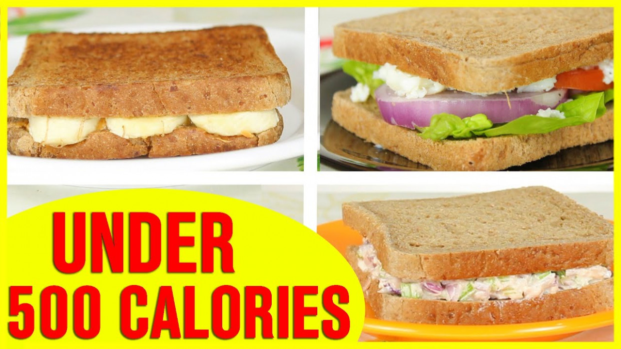 11 Healthy Sandwich Recipes, Healthy Recipes For Weight Loss - Healthy Recipes Under 500 Calories