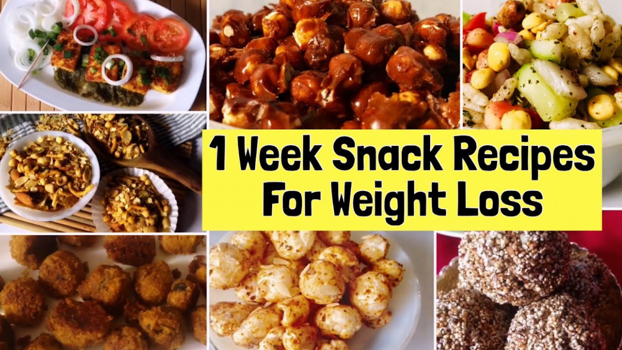 11 Healthy Snacks Recipes For Weight Loss | Easy & Simple ..