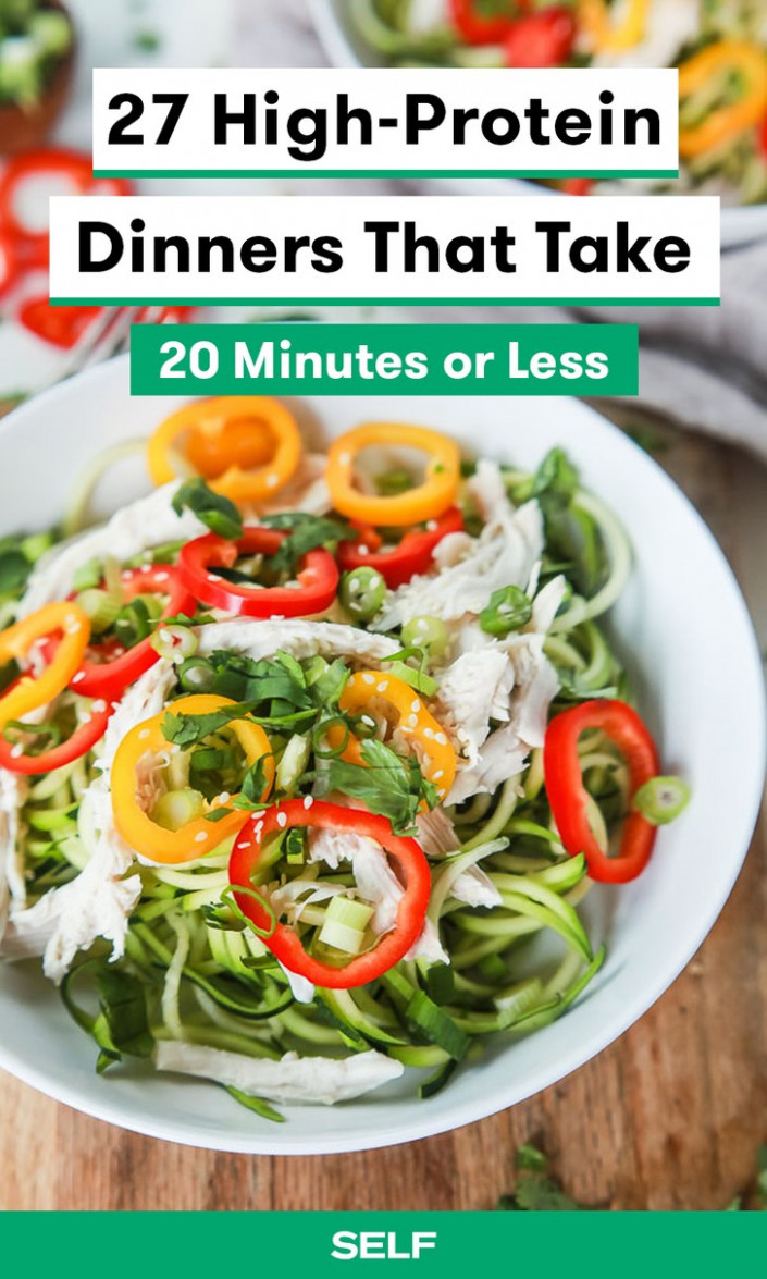 11 High Protein Dinners You Can Make In 11 Minutes Or Less ..
