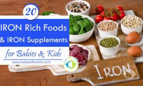 11 Iron Rich Foods And Iron Supplements For Babies & Kids ..