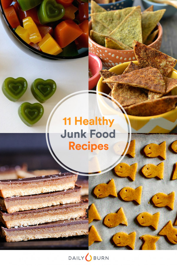 11 Junk Food Recipes You Can Feel Good About - healthy recipes junk food