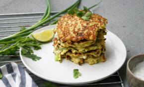 11 kcal healthy zucchini fritters for dinner, lunch or ...