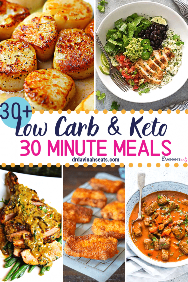 11+ Low Carb & Keto 11 Minute Meals | Dr