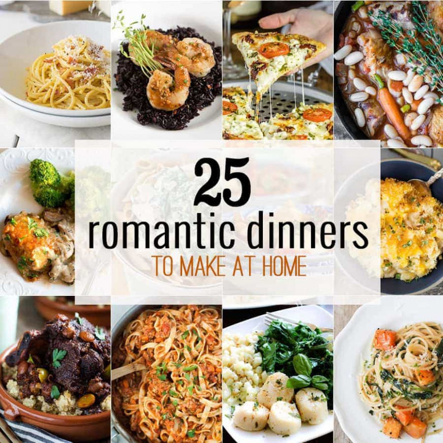 11 Romantic Dinners to Make at Home - The Cookie Rookie® - recipes to make for dinner