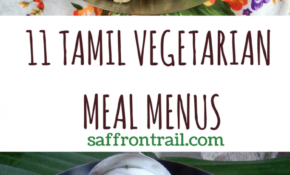 11 Traditional Tamil Vegetarian Lunch Menus | Indian ..