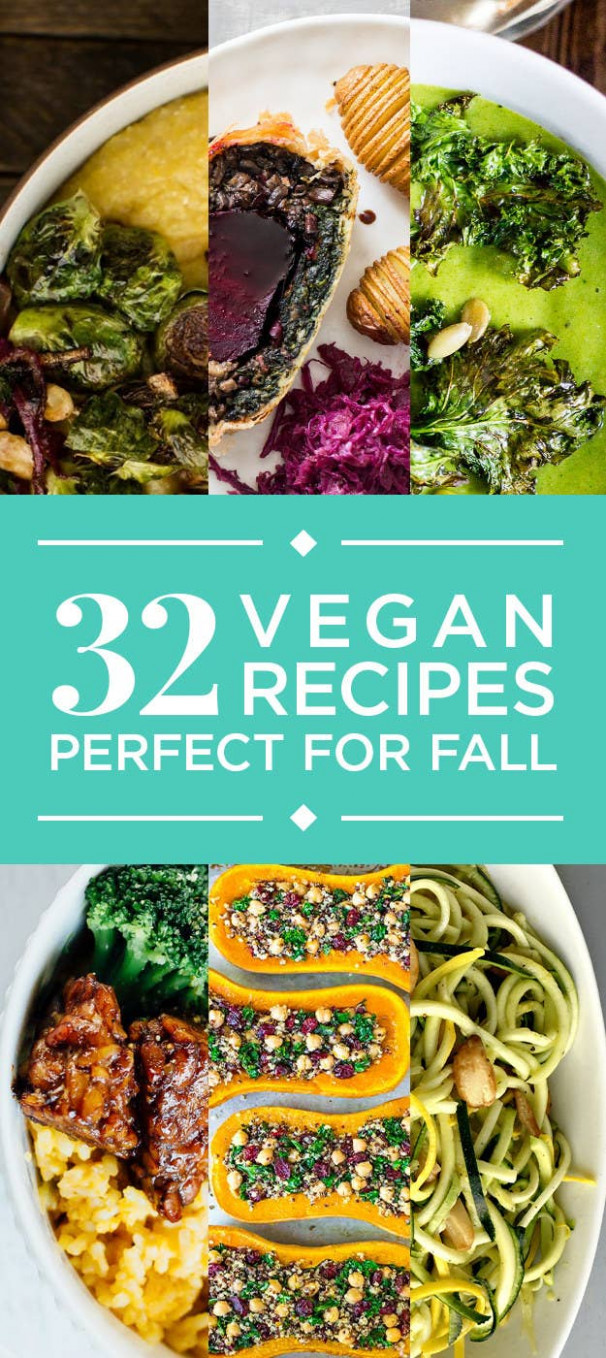 11 Vegan Fall Recipes With No Meat Or Dairy - food recipes buzzfeed