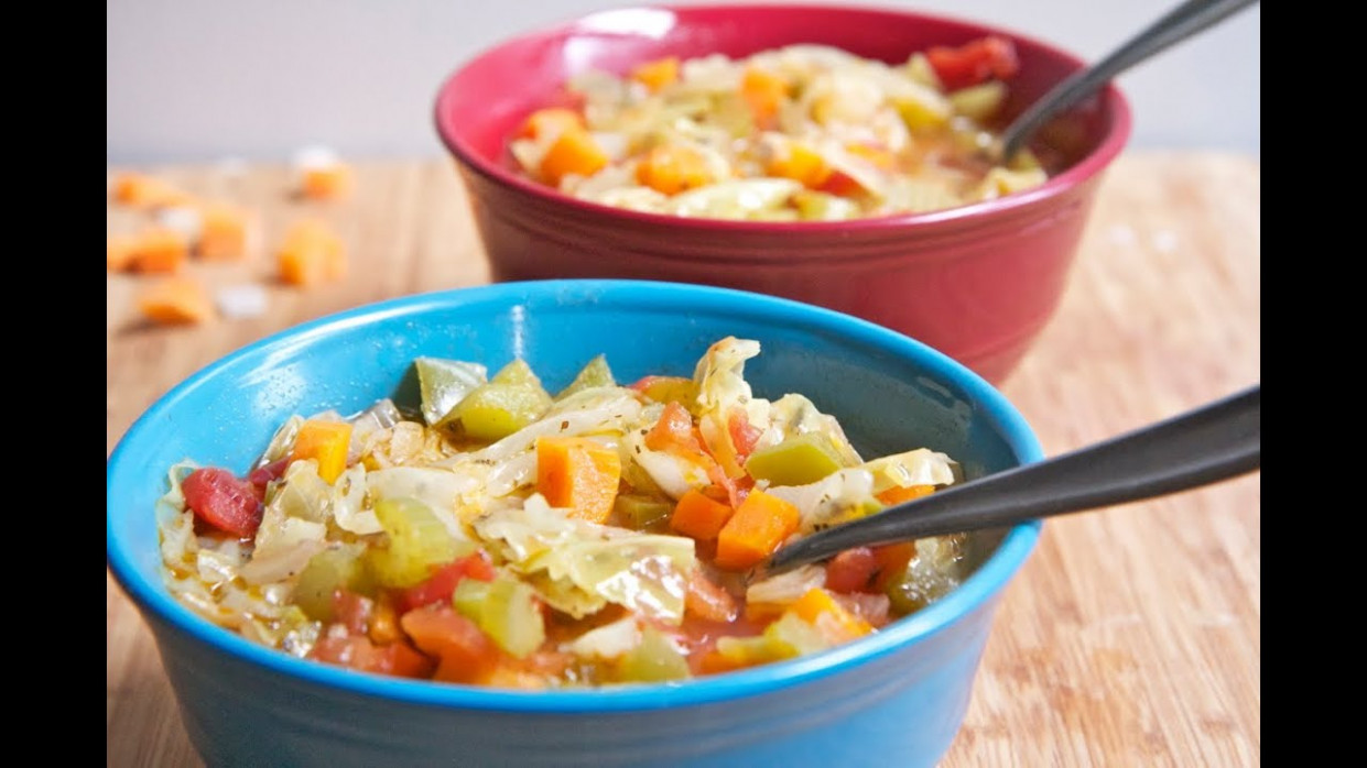 1111 lbs in 11 week Cabbage Soup Diet Recipe AKA Wonder Soup - recipes cabbage soup vegetarian