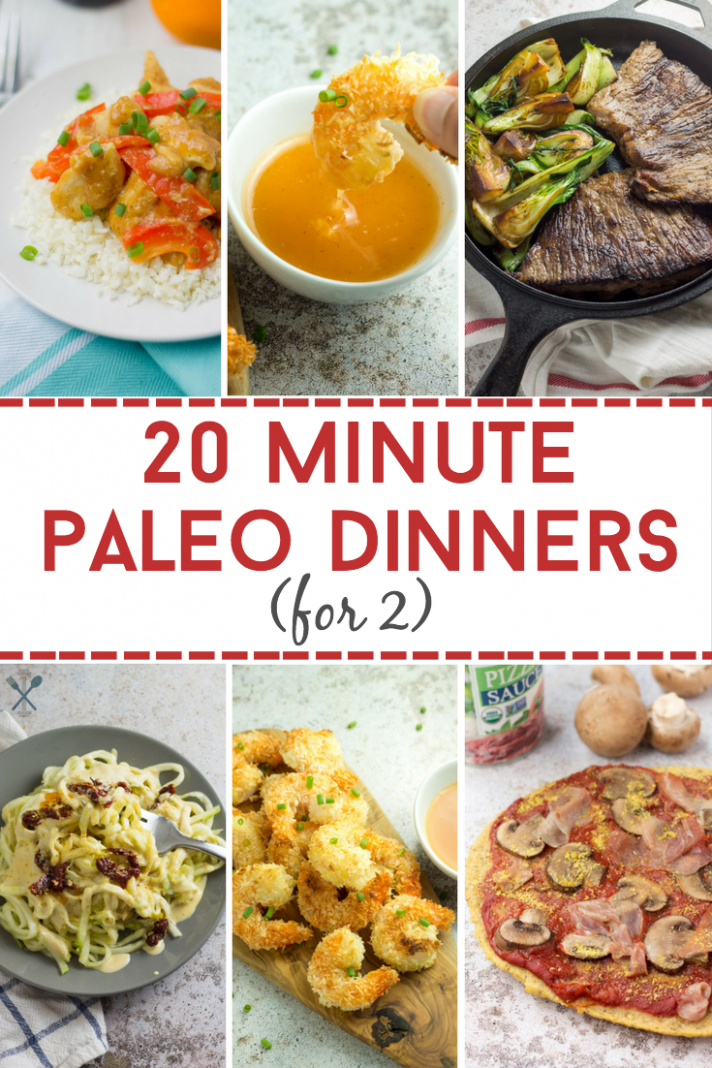 112 Minute Paleo Dinners For 12 - Recipes Dinner For 2