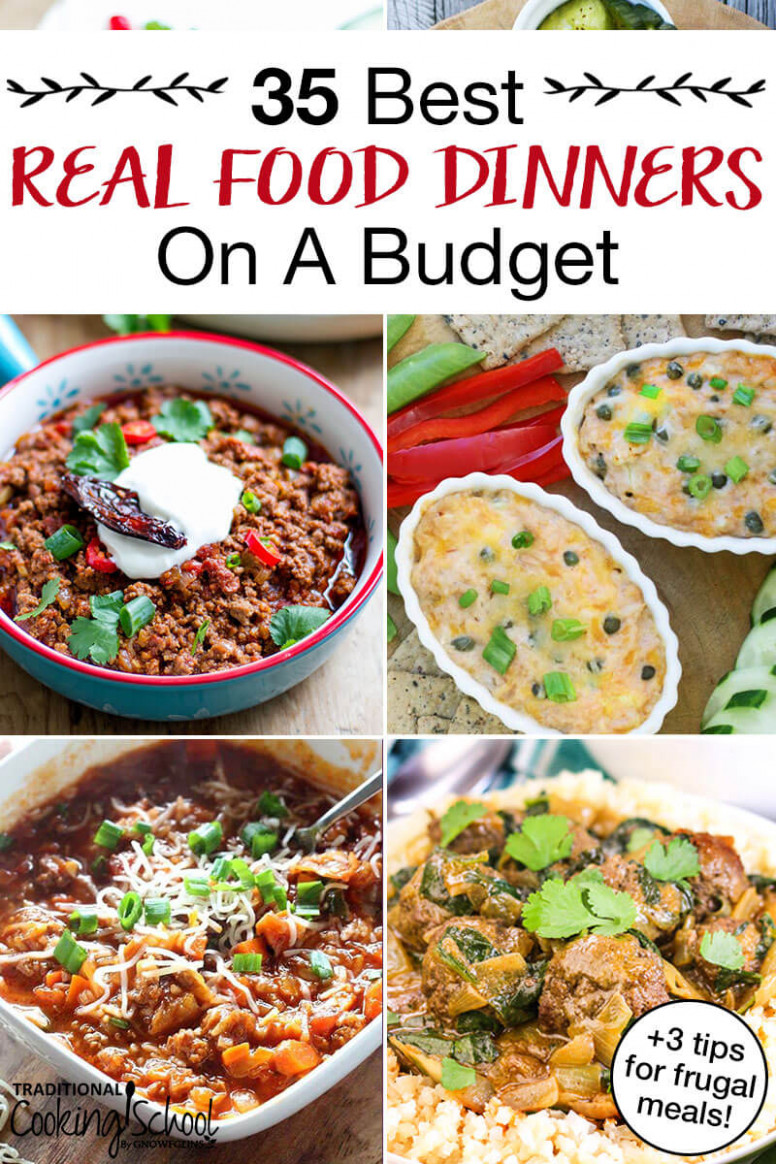 113 Best Healthy Dinners On A Budget (+13 Tips For Frugal Meals!) - recipes that are cheap and healthy