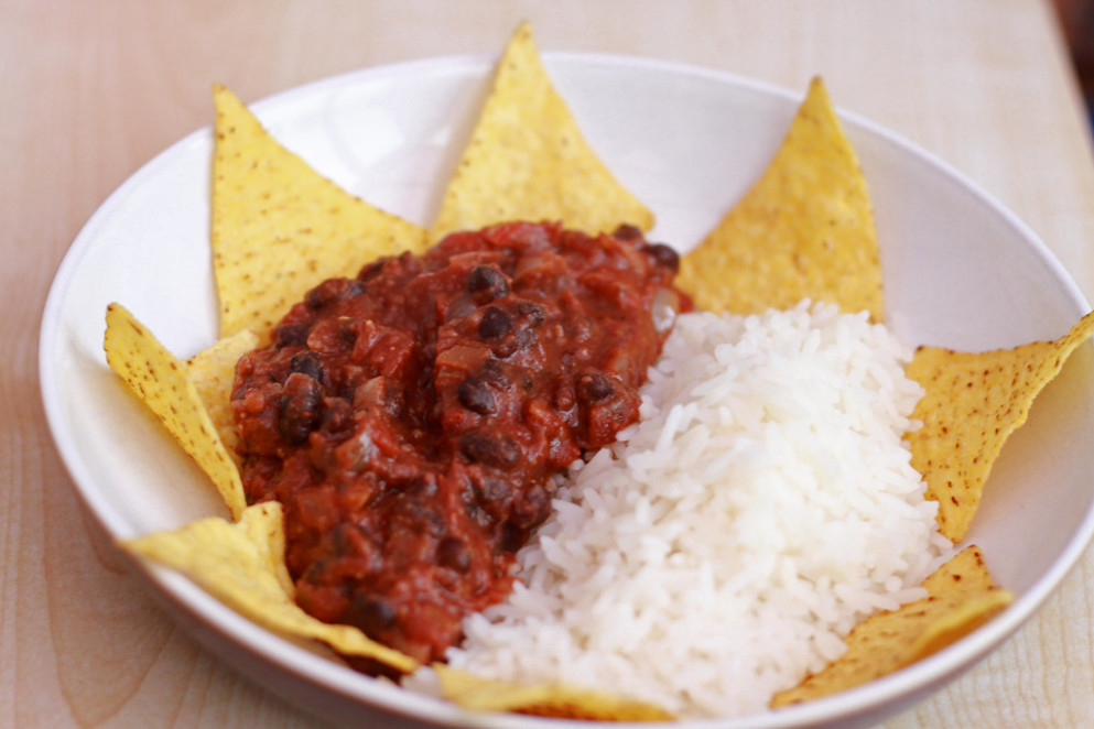 11th June - black bean mole - food recipes easy and cheap