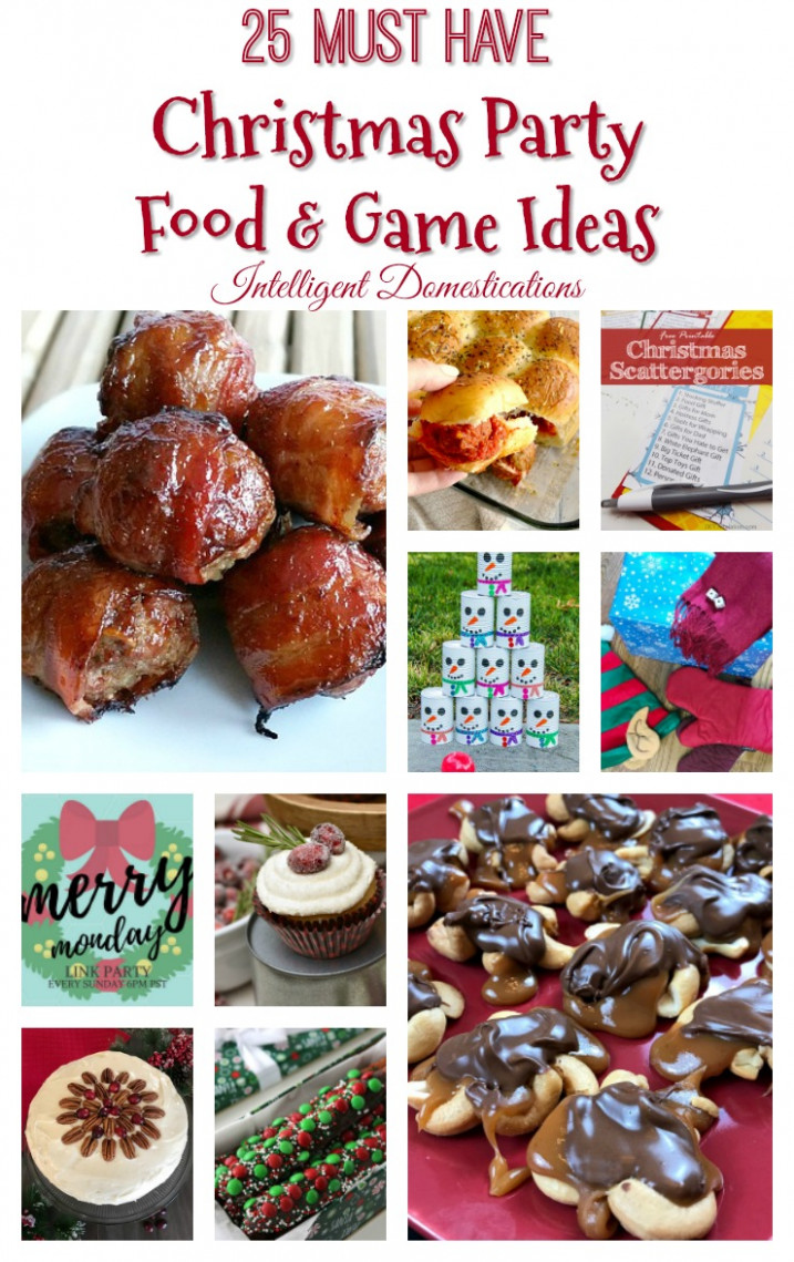12 Christmas Party Food & Game Ideas - Intelligent ..