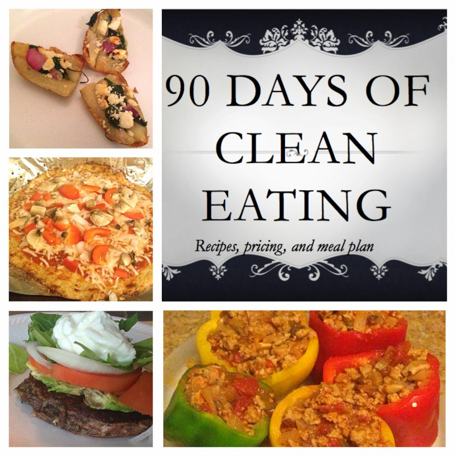 12 Day Clean Eating Meal Plans With Recipes And Pricing ..