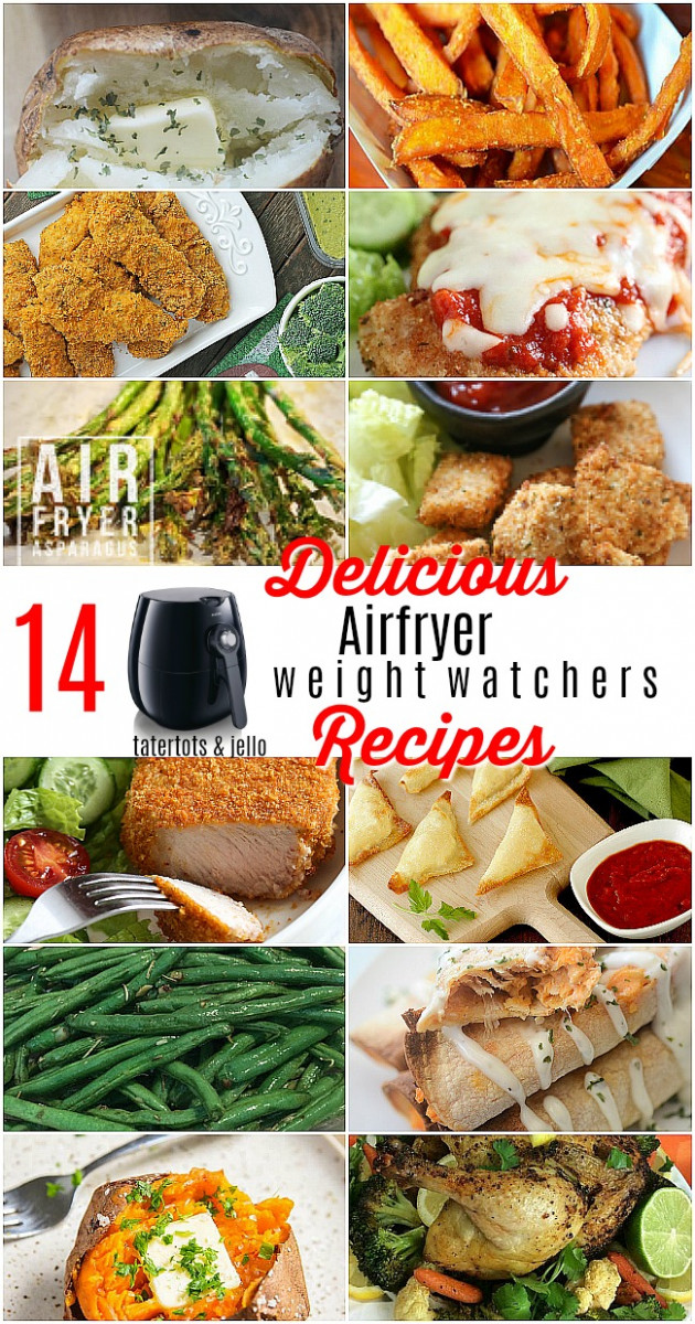 12 Delicious Air Fryer recipes with Weight Watchers Points! - weight watchers recipes dinner