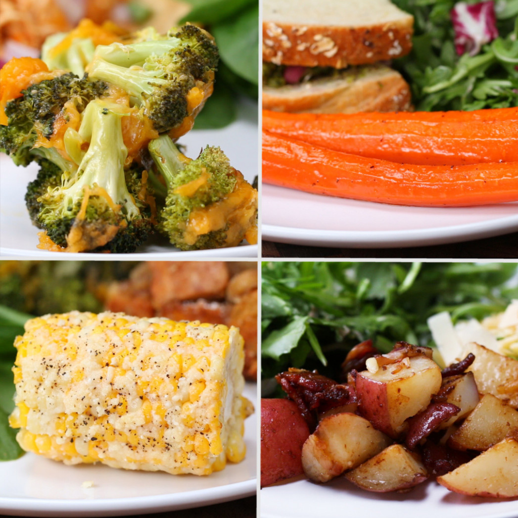 12 Easy 12-Ingredient Vegetable Side Dishes | Recipes - food recipes and ingredients