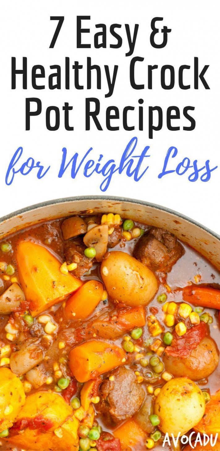 12 Easy and Healthy Crock Pot Recipes for Weight Loss | low ..