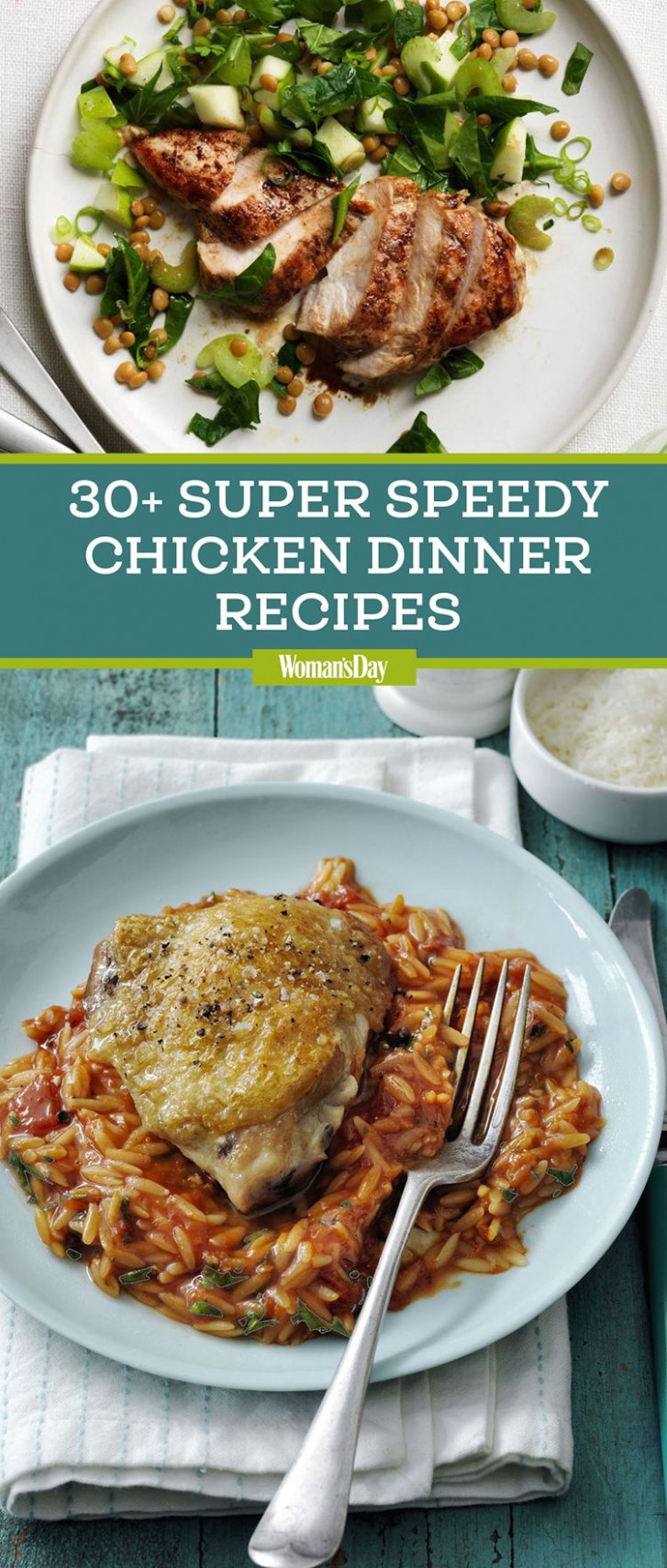 12 Easy Chicken Dinner Recipes - Best Chicken Dishes - dinner recipes chicken breast