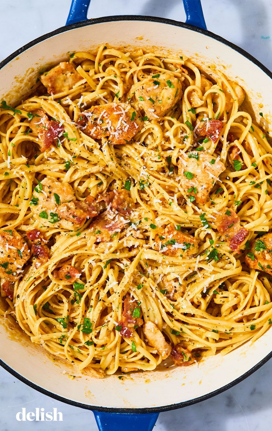 12+ Easy Chicken Pasta Recipes - Light Pasta Dishes with ..