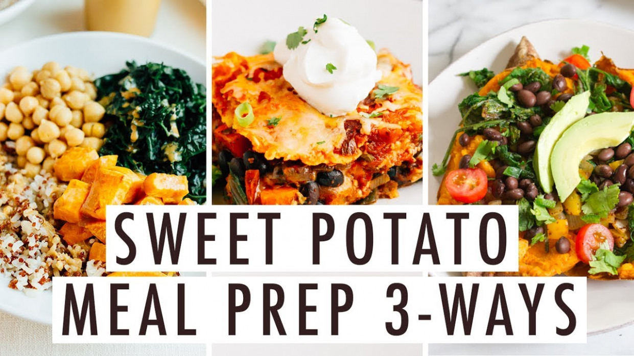 12 Easy Healthy Vegetarian Meal Prep Recipes With Sweet Potatoes - Healthy Recipes Sweet