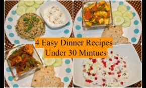 12 Easy Indian Dinner Recipes Under 12 Minutes | 12 Quick Dinner Ideas |  Simple Living Wise Thinking – Dinner Recipes Quick Indian